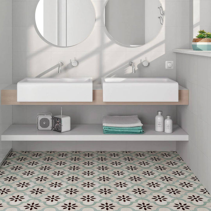 Moroccan pattern and decor tiles-ceramicplanet.co.uk