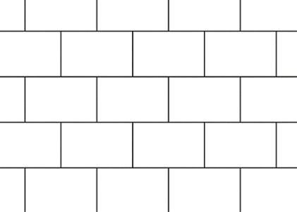 brick bond tile pattern