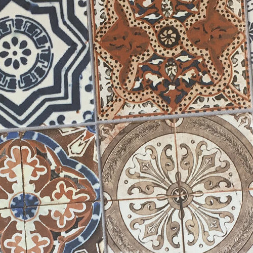 porcelain and ceramic pattern tiles collection