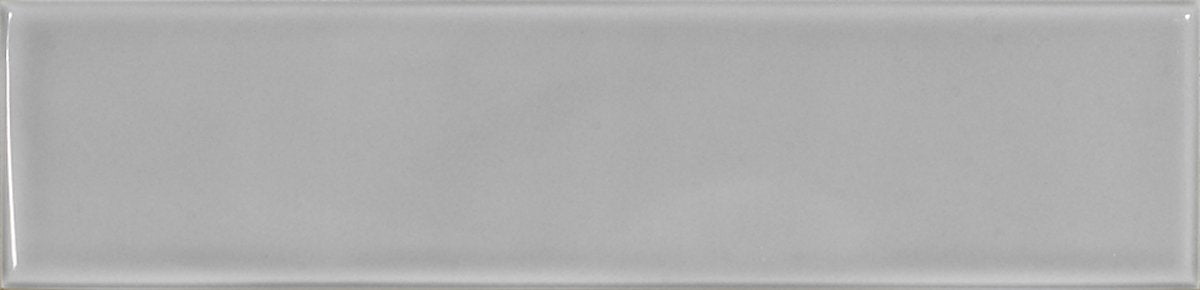 7.5x30cm Acuarela Cendra Grey Brick Tile-El Barco-ceramicplanet.co.uk
