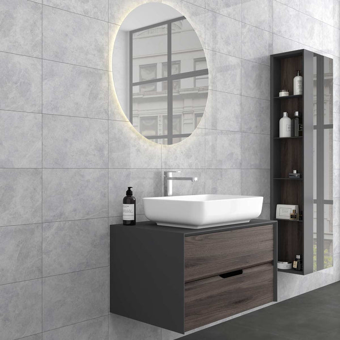 25x40cm Cloud White wall tile FON-9287-Canakkale Seramik - Kale-ceramicplanet.co.uk