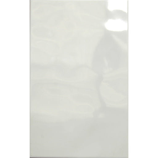 25x40cm Bumpy gloss white wall tile 9405-Canakkale Seramik - Kale-ceramicplanet.co.uk
