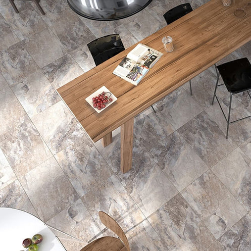 stone effect floor tiles collection