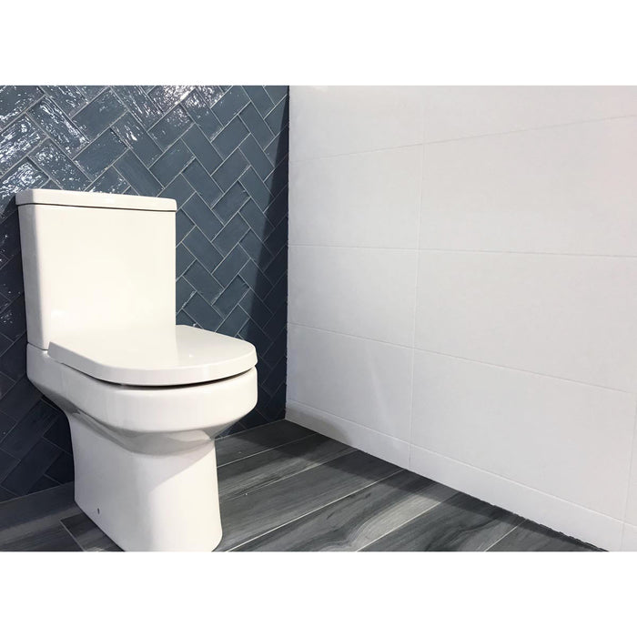 30x60cm Mizzle White Satin wall tile BCT57338-British Ceramic Tile BCT-ceramicplanet.co.uk
