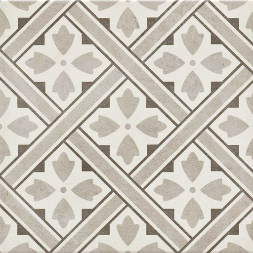 33x33cm Mr Jones Grey Patterned tile GS-D4860-Canakkale Seramik - Kale-ceramicplanet.co.uk