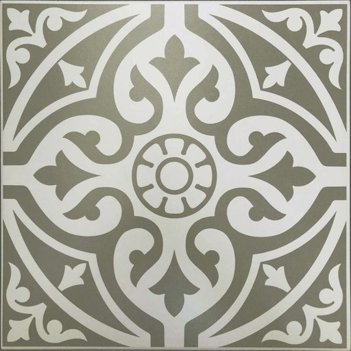 33x33cm Devonstone Grey Patterned tile GS-D4863-Canakkale Seramik - Kale-ceramicplanet.co.uk