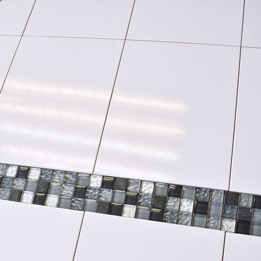 25x33cm Flat White gloss wall tile 5225-Canakkale Seramik - Kale-ceramicplanet.co.uk