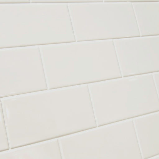 10x20cm Metro Cream Flat Smooth Brick Gloss tile-Karo Metro Ceramics-ceramicplanet.co.uk