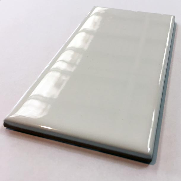15x7.5cm Mini Metro White Flat Gloss Brick tile-Karo Metro Ceramics-ceramicplanet.co.uk