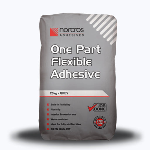 Norcros One Part Flexible GREY Tile Adhesive 20kg-Norcros-ceramicplanet.co.uk