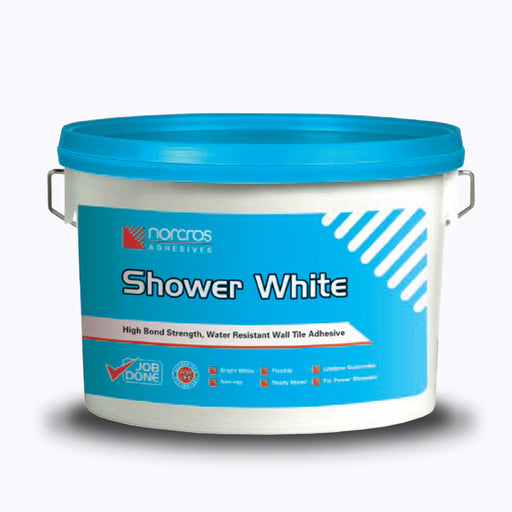 Norcros Shower White Ready Mix Adhesive 15kg-Norcros-ceramicplanet.co.uk