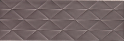 10x30cm Savoy Steel gloss decor wall tile-Johnson Tiles-ceramicplanet.co.uk
