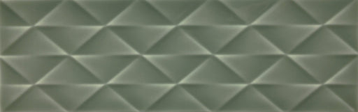10x30cm Savoy Sage gloss decor wall tile-Johnson Tiles-ceramicplanet.co.uk