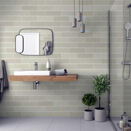 10x30cm Savoy Bone gloss wall tile-Johnson Tiles-ceramicplanet.co.uk