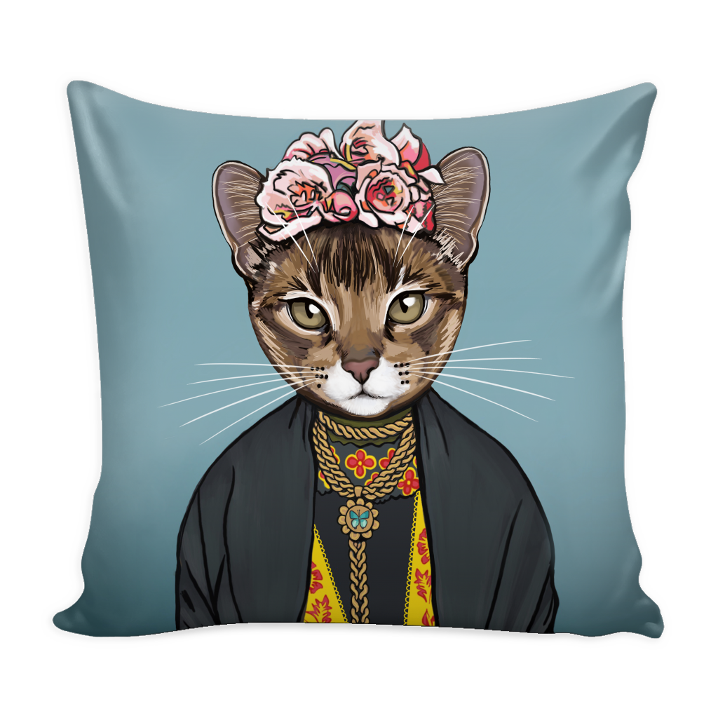 Frida Gato Pillow