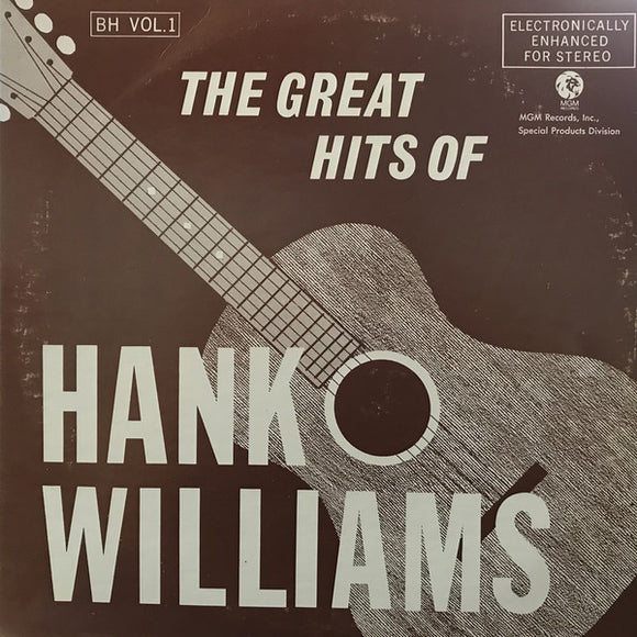 Hank Williams - The Great Hits Of Hank Williams