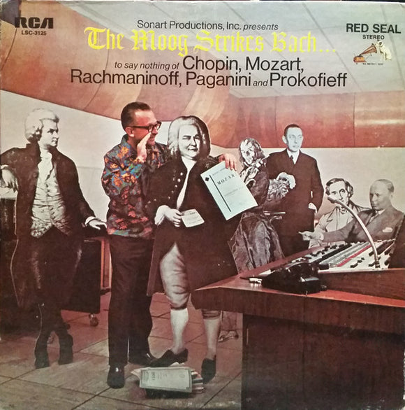 Hans Wurman - The Moog Strikes Bach...