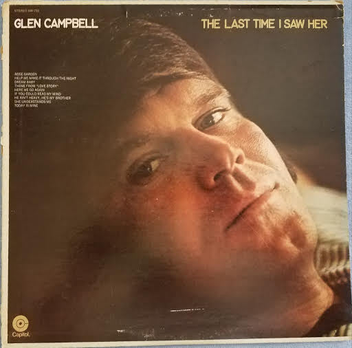 Glen Campbell - The Last Time I Saw Her
