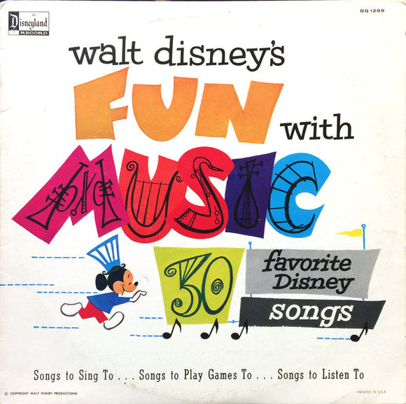 Various - Walt Disney's Fun With Music