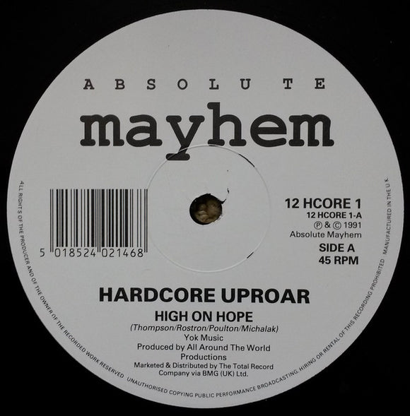 Hardcore Uproar - High On Hope
