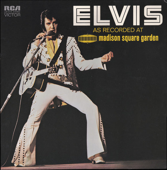 Elvis Presley - At Madison Square Garden