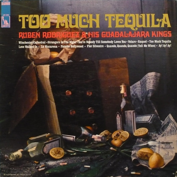 Ruben Rodriguez And His Guadalajara Kings - Too Much Tequila