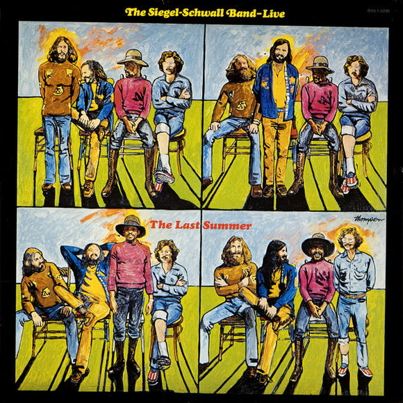 The Siegel-Schwall Band - Live, The Last Summer