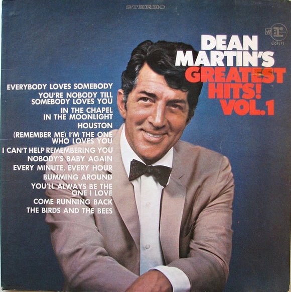 Dean Martin - Dean Martin's Greatest Hits! Vol. 1