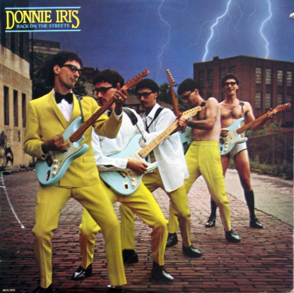 Donnie Iris - Back On The Streets
