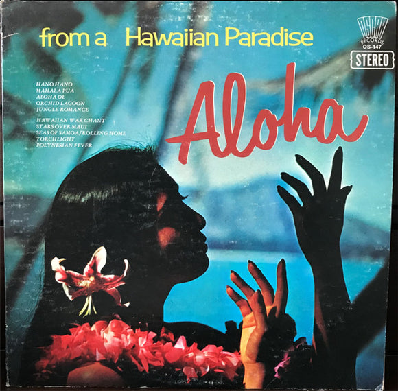 The Surf Serenaders - Aloha From A Hawaiian Paradise