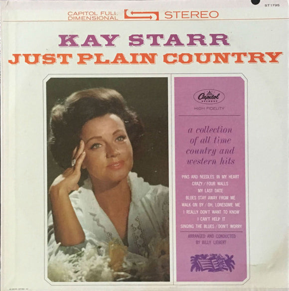 Kay Starr - Just Plain Country