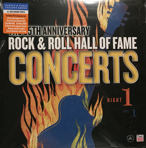 Various - Rock & Roll Hall of Fame Concerts Night 1