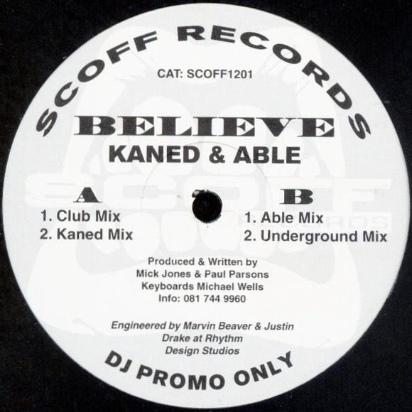 Kaned & Able - Believe
