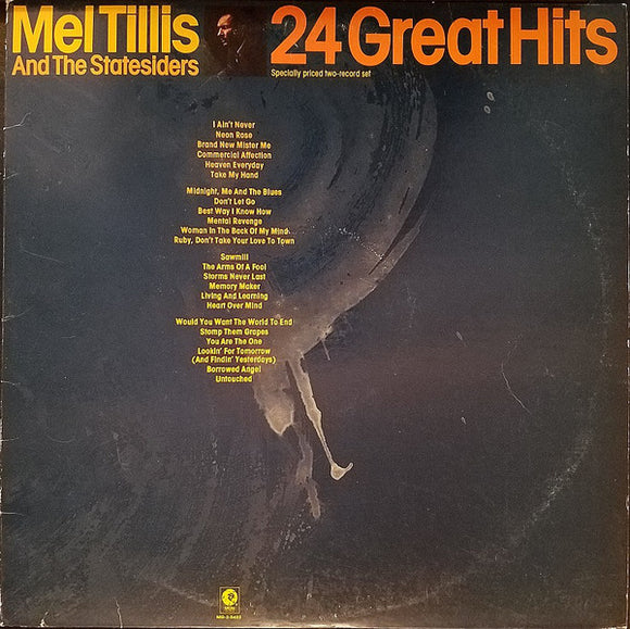 Mel Tillis And The Statesiders - 24 Great Hits
