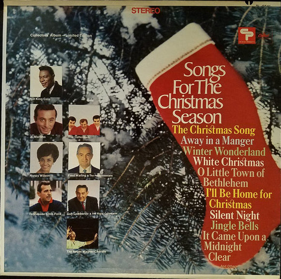 Various - Songs For The Christmas Season