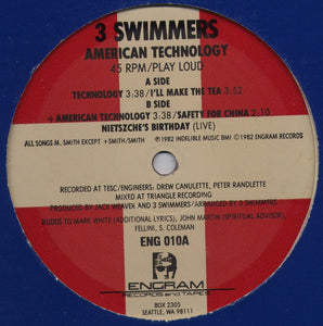 3 Swimmers - American Technology