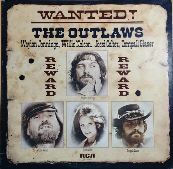 Waylon Jennings - Wanted! The Outlaws