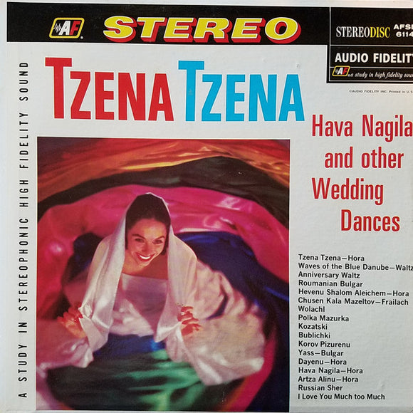 Harry Brown - Tzena Tzena, Hava Nagila And Other Wedding Dances