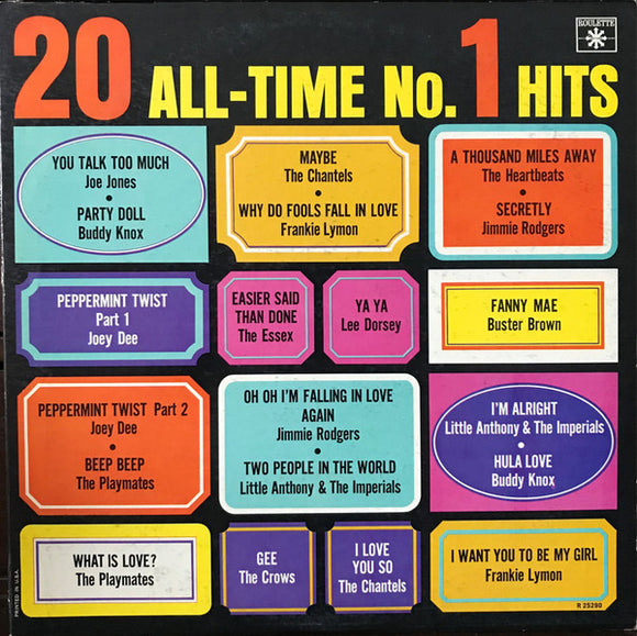 Various - 20 All-Time No. 1 Hits