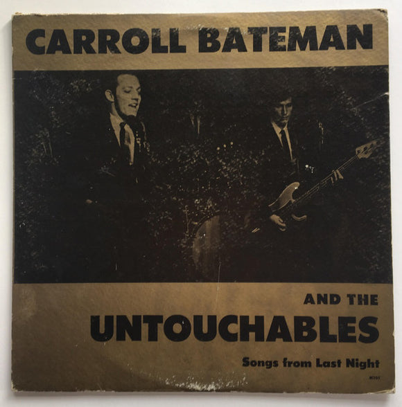 Carroll Bateman - Songs From Last Night
