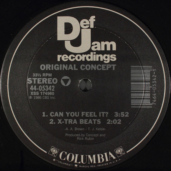 Original Concept - Can You Feel It? / Knowledge Me