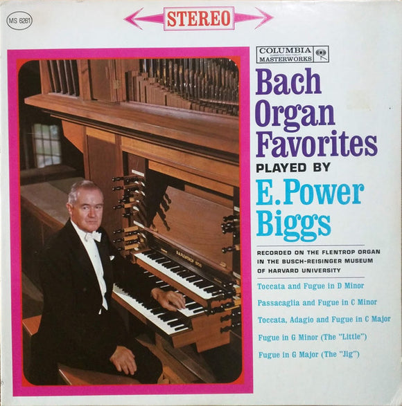 Johann Sebastian Bach - Bach Organ Favorites