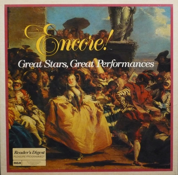 Various - Encore! Great Stars, Great Performances