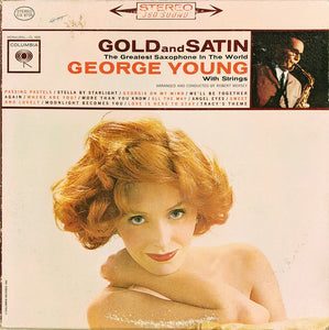 George Young With Strings - Gold And Satin