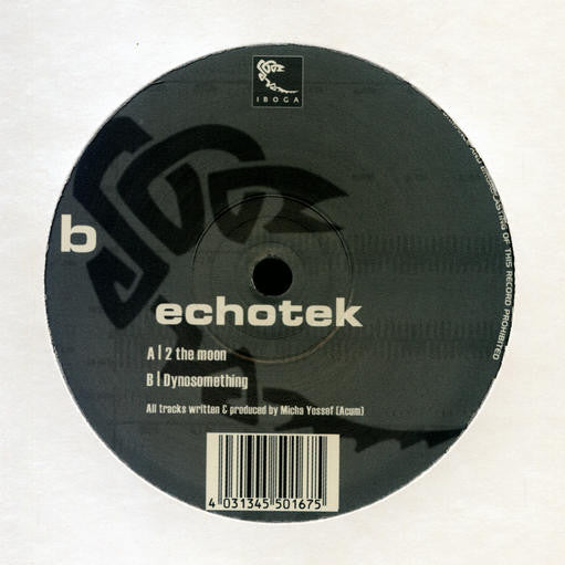Echotek - 2 The Moon / Dynosomething