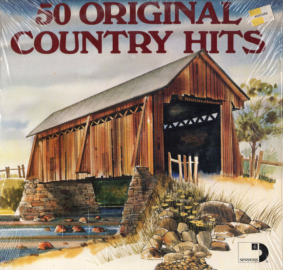 Various - 50 Original Country Hits