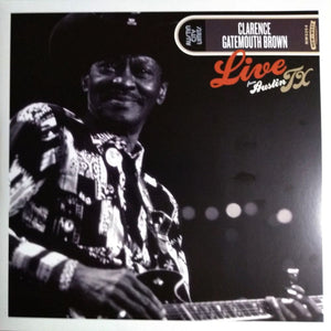 "Clarence ""Gatemouth"" Brown - Live From Austin TX"