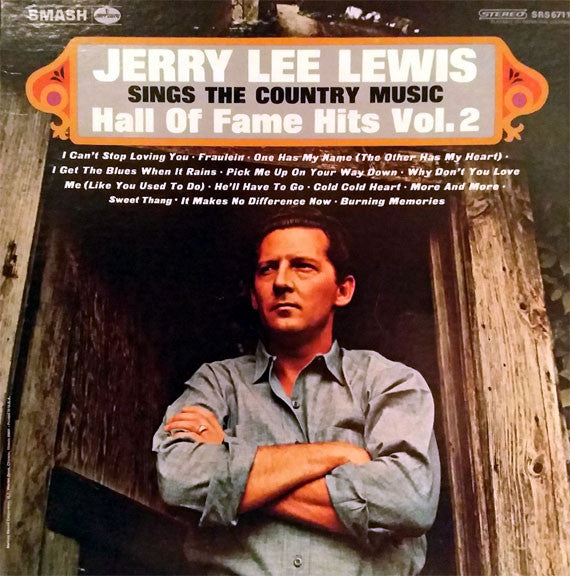 Jerry Lee Lewis - Sings The Country Music Hall Of Fame Hits Vol. 2