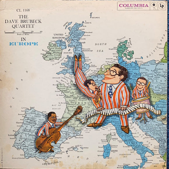 The Dave Brubeck Quartet - The Dave Brubeck Quartet In Europe