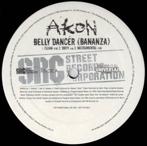 Akon - Belly Dancer (Bananza) / Trouble Nobody